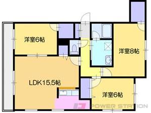 江別市文京台南町01賃貸アパート間取図面
