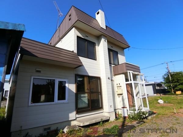 江別市緑町東3丁目0一戸建貸家外観写真