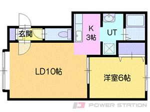 アパート・クィート高砂Ⅱ