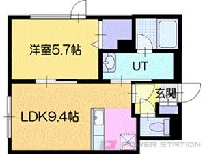 アパート・仮)東野幌本町5-25