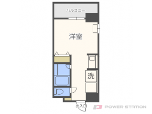 札幌市東区北8条東1丁目0分譲リースマンション間取図面