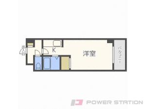札幌1Kマンション図面