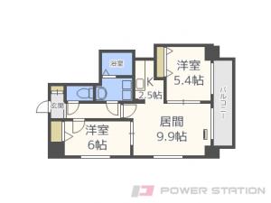 札幌市東区北7条東5丁目0賃貸マンション間取図面