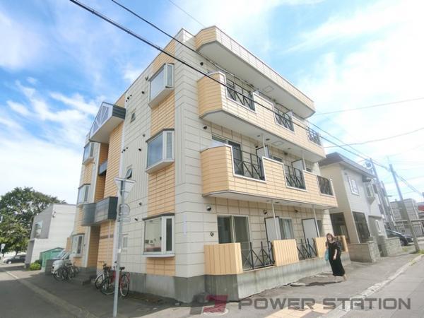 札幌市東区北9条東12丁目1賃貸マンション外観写真