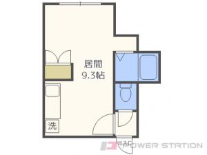 札幌市東区北15条東3丁目0賃貸アパート間取図面