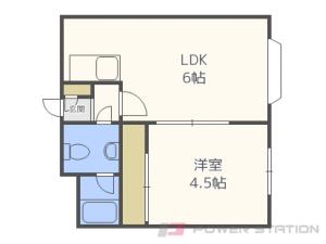 札幌市東区北11条東5丁目0賃貸マンション間取図面
