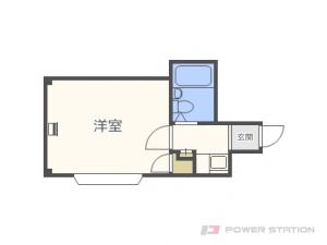札幌市東区北11条東3丁目0賃貸マンション間取図面