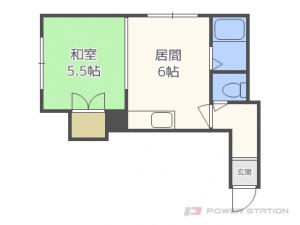 札幌市東区北8条東5丁目0賃貸アパート間取図面