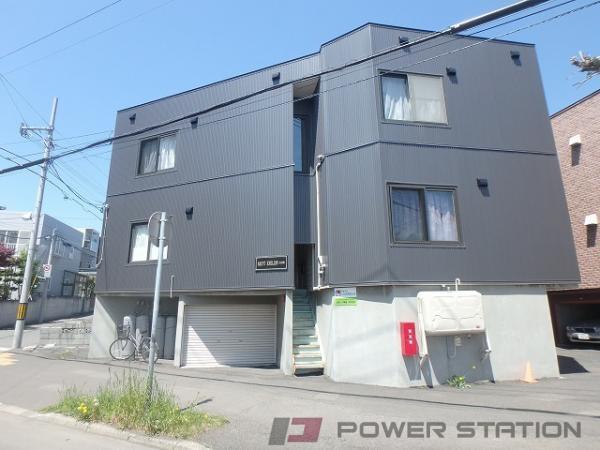 札幌市東区北9条東9丁目0賃貸アパート外観写真