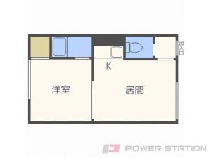 札幌市東区北10条東12丁目0賃貸アパート間取図面