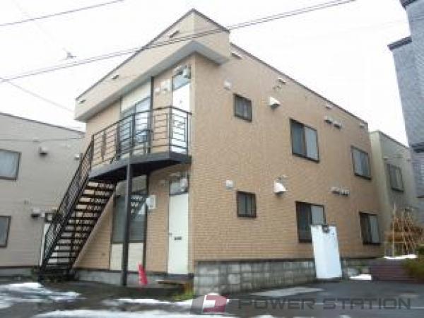 札幌市東区北10条東12丁目1賃貸アパート外観写真