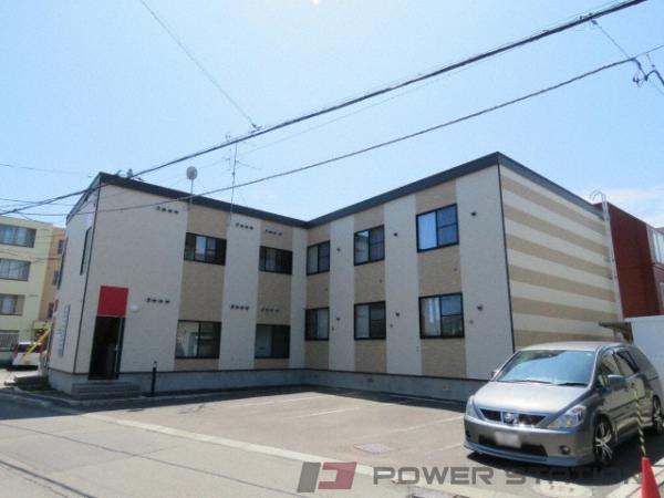 札幌市東区北21条東18丁目0賃貸アパート外観写真