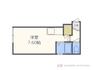 札幌市東区北10条東11丁目1賃貸アパート間取図面