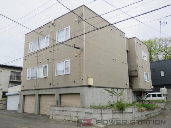 札幌市東区北10条東11丁目0賃貸アパート外観写真