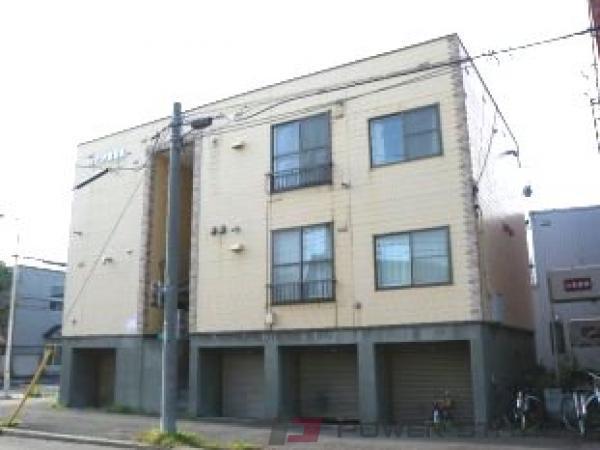 札幌市東区北8条東13丁目0賃貸アパート外観写真