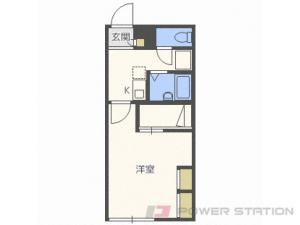 太平1Kアパート図面