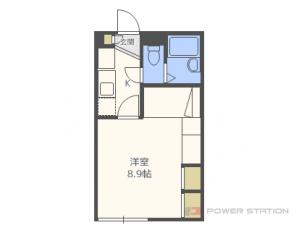 札幌市東区北丘珠2条4丁目0賃貸アパート間取図面