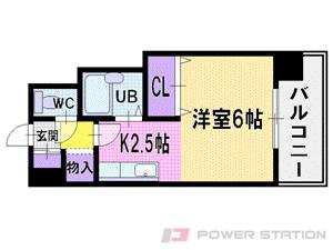 札幌市東区北14条東4丁目0賃貸マンション間取図面