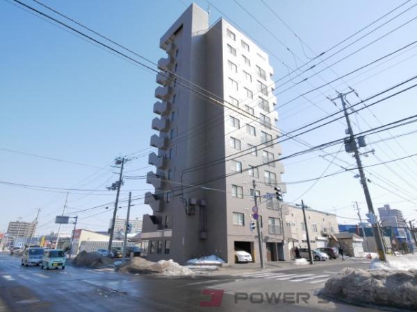 札幌市東区北14条東5丁目0賃貸マンション外観写真