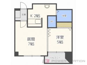 札幌市東区北15条東4丁目0賃貸マンション間取図面