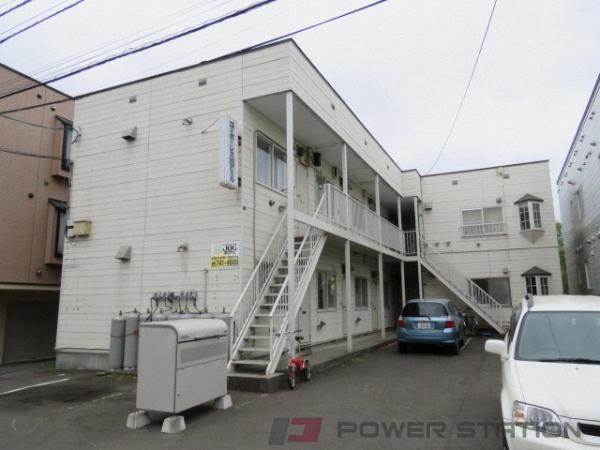 札幌市東区北10条東15丁目0賃貸アパート外観写真
