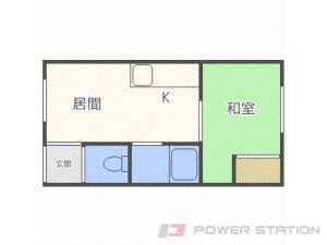 札幌市東区北10条東15丁目0賃貸アパート間取図面