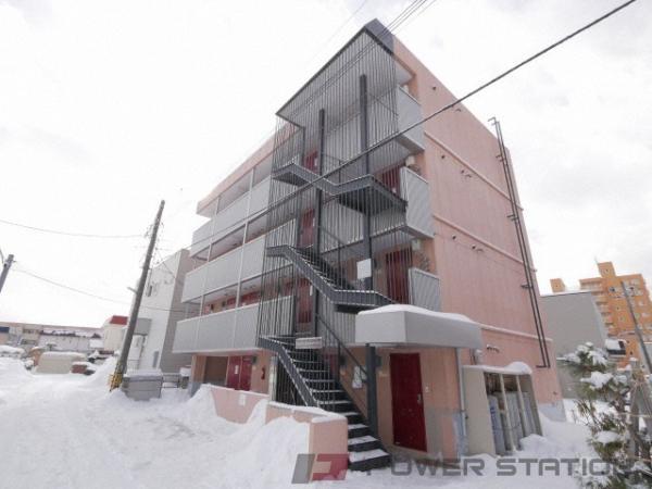 札幌市東区北12条東15丁目1賃貸マンション外観写真