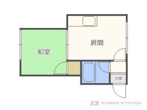 札幌市東区本町2条3丁目0賃貸アパート間取図面