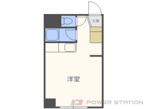 札幌市東区北16条東1丁目1賃貸マンション間取図面