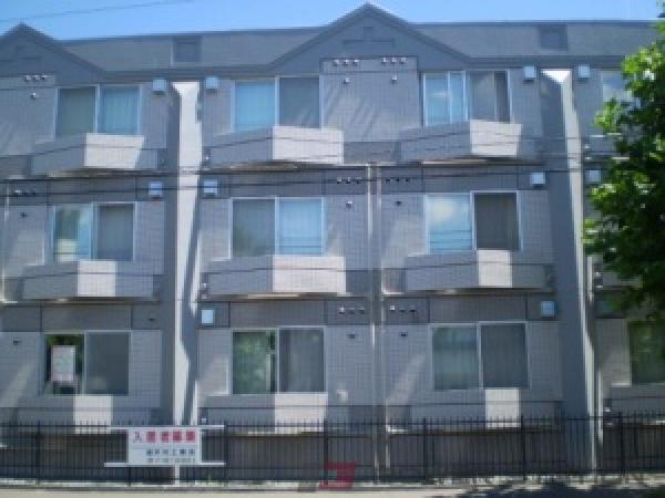 北13条東1Kマンション外観