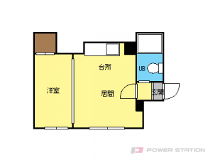 札幌市東区北17条東2丁目1賃貸アパート間取図面