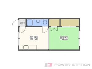 札幌市東区北18条東1丁目1賃貸マンション間取図面