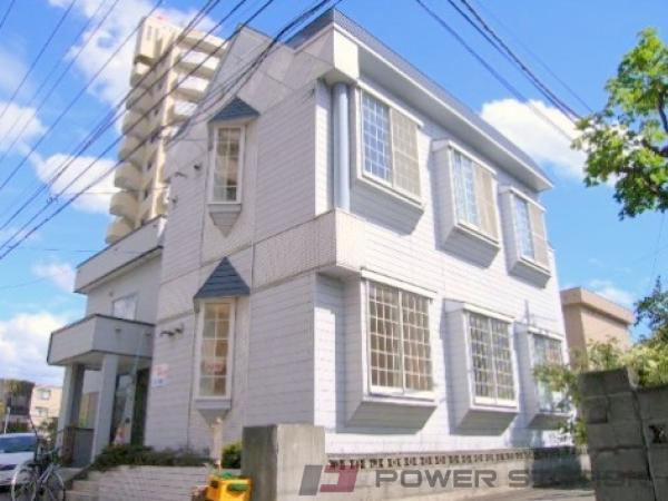 札幌市東区北16条東3丁目0賃貸アパート外観写真