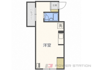 札幌市東区北18条東4丁目1賃貸マンション間取図面