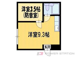 札幌市東区北18条東6丁目0賃貸マンション間取図面