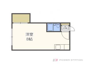 札幌市東区北15条東7丁目0賃貸アパート間取図面