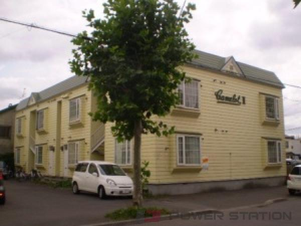 札幌市東区北16条東7丁目0賃貸アパート外観写真
