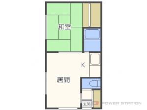 札幌市東区北17条東7丁目0賃貸アパート間取図面