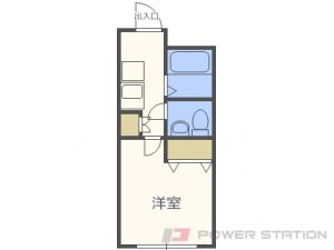 札幌市東区北17条東7丁目0賃貸マンション間取図面