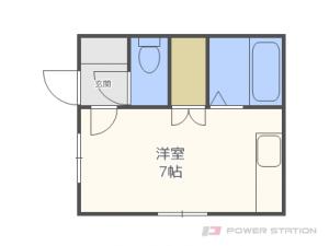 札幌市東区北15条東9丁目0賃貸アパート間取図面
