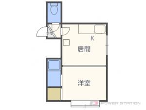 札幌市東区北15条東10丁目0賃貸アパート間取図面