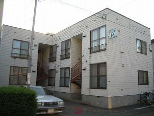 札幌市東区北16条東10丁目1賃貸アパート外観写真