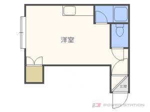 環状通東1Rアパート図面