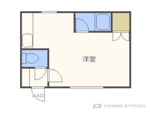 札幌市東区北16条東13丁目0賃貸アパート間取図面
