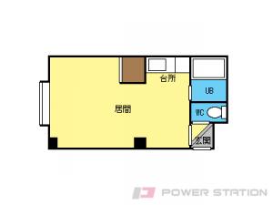 札幌市東区北14条東16丁目1賃貸マンション間取図面