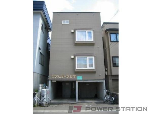 札幌市東区北17条東17丁目1賃貸アパート外観写真