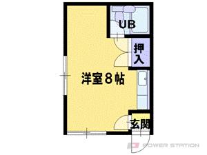 札幌市東区北42条東1丁目0賃貸アパート間取図面