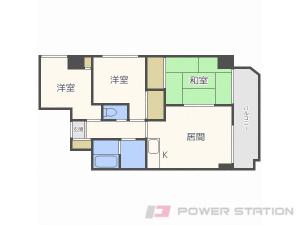札幌市東区北15条東18丁目0賃貸マンション間取図面