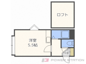 札幌市東区北17条東20丁目0賃貸アパート間取図面
