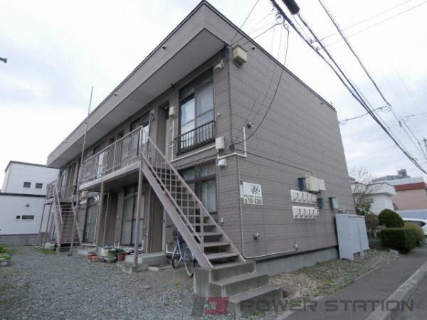 札幌市東区北18条東20丁目0賃貸アパート外観写真